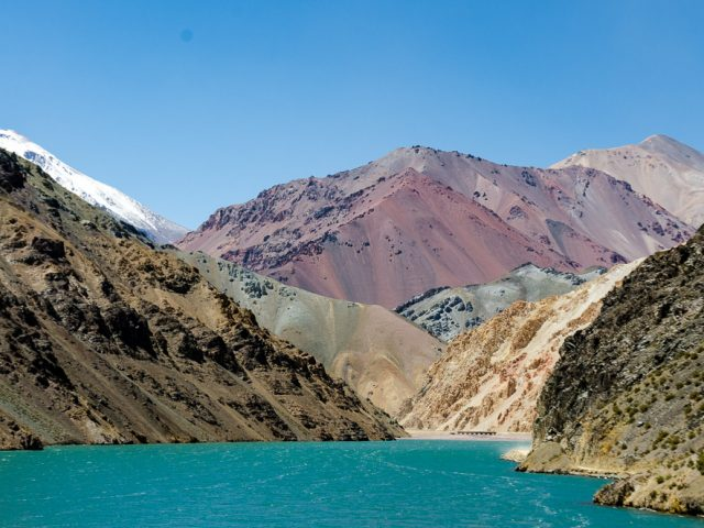 From Santiago via the Elqui Valley to the Paso Aqua Negra