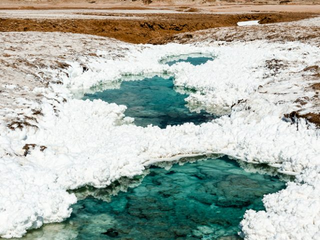 Die Atacama-Wüste: bizarre Felsen, Staub und viel Salz