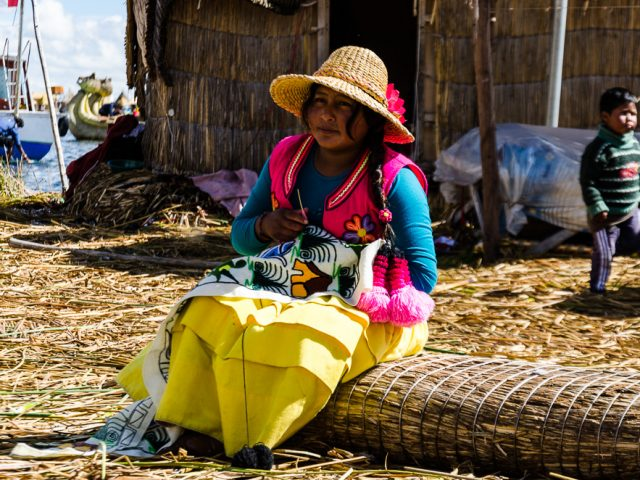 Lake Titicaca – the largest lake in South America