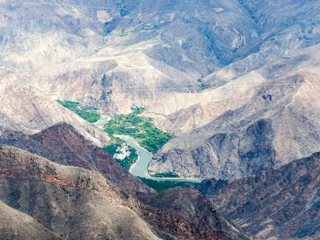 Driving challenges in the northern Peruvian Andes
