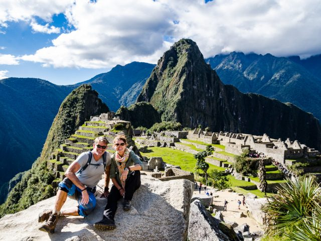 Wedding, lunch-sit-in, ceremony with the shaman and there was something else … oh yes, Cusco and Machu Picchu