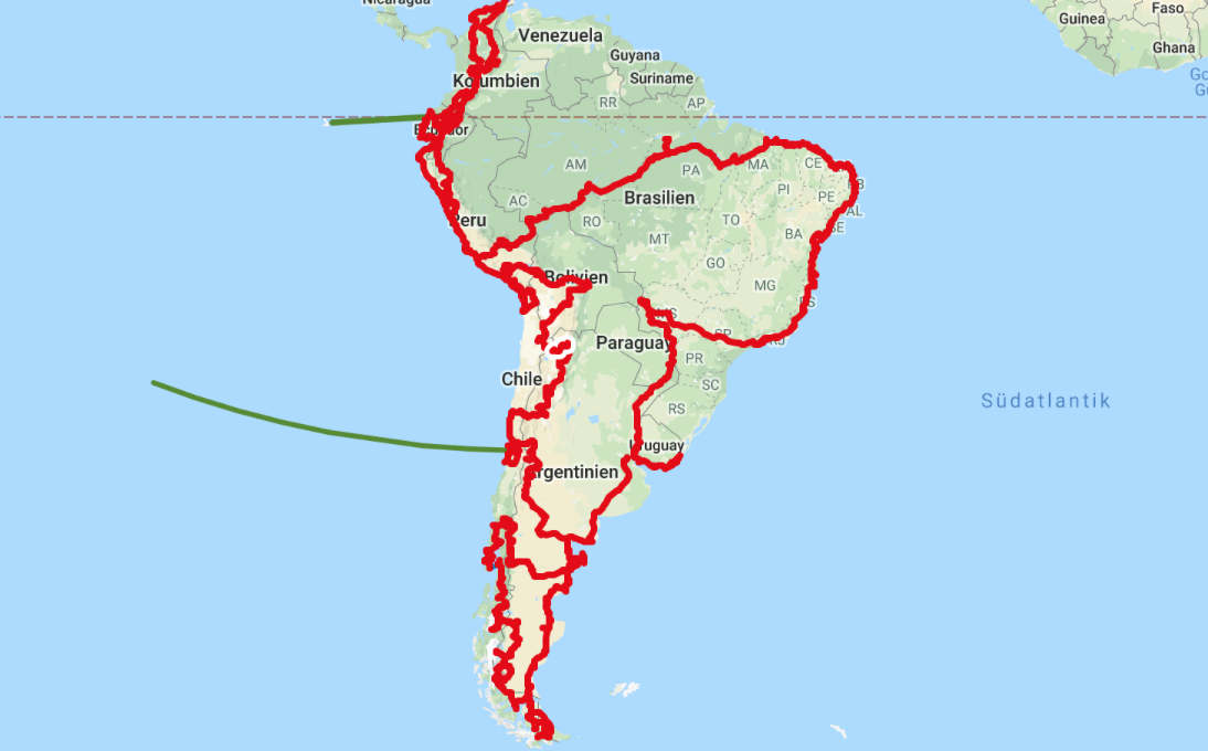 A summary: South America | tracks AROUND the WORLD - Weltreise mit ...