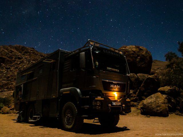 Transit Namibia: von Südafrika nach Angola