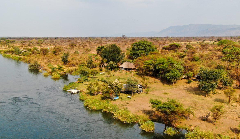 Süd-Sambia: Flüsse, Seen und Wasserfälle
