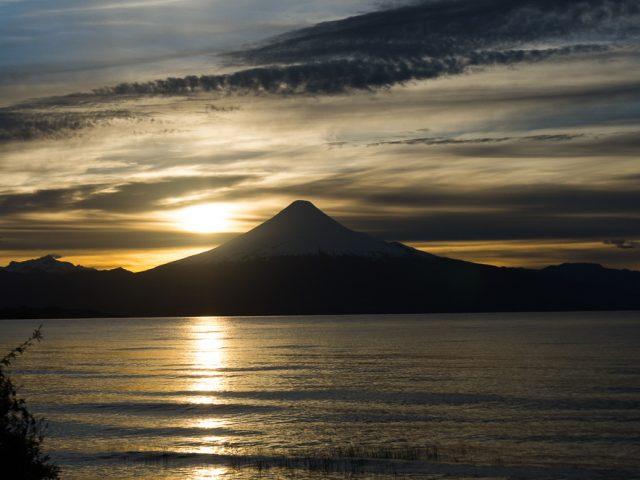 Die chilenische Seenplatte mit Ihren Vulkanen