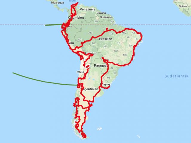 Eine Zusammenfassung: Südamerika